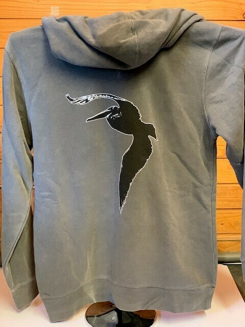 Lightweight Back Logo Hoodie