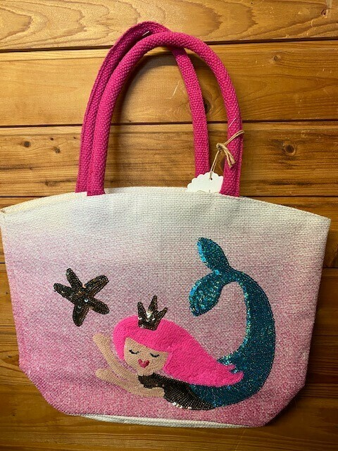 Mermaid Sequin Tote