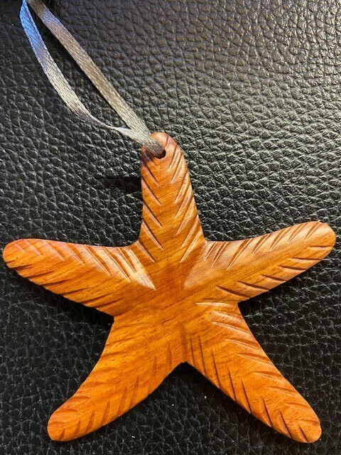 Handcrafted- Starfish Ornament
