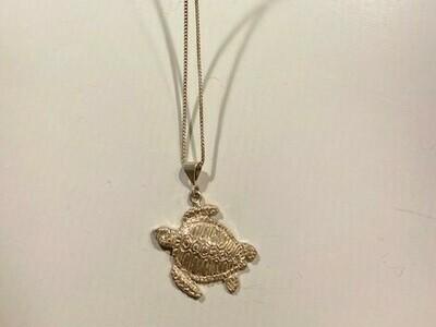 Turtle Pendant Necklace