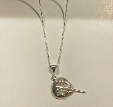 Horseshoe Crab Pendant Necklace