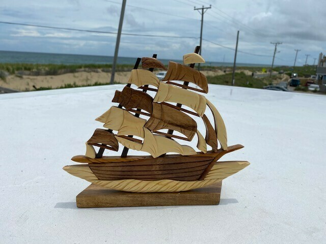 Handcrafted- Clipper Statue