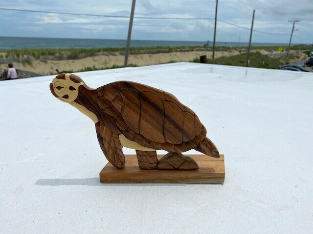 Handcrafted Turtle Statue