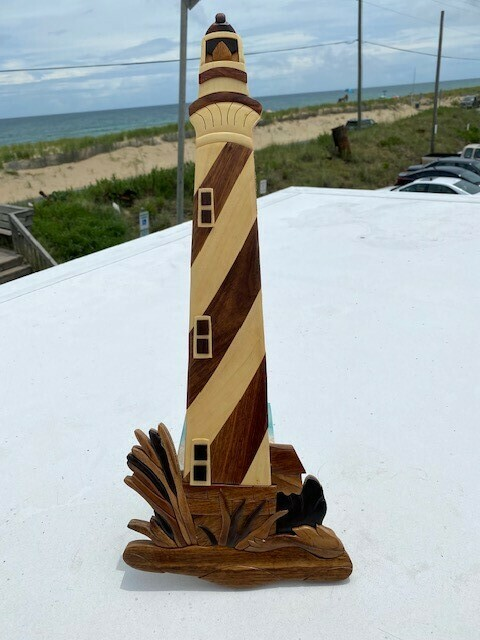 Handcrafted- Lighthouse Wall Hang