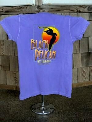 Women's V neck Sun Pelican Tee