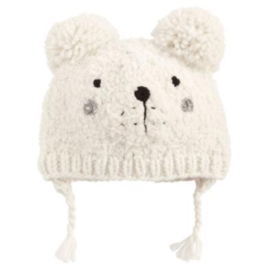 Bear Knit Hat 2t-5t