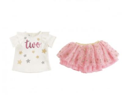 Two Birthday Skirt Set