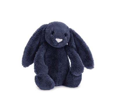 Bashful Navy Bunny Medium