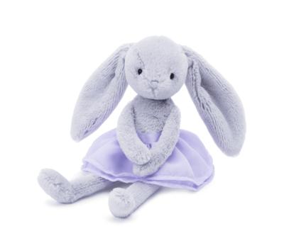 Lilac Arabesque Bunny