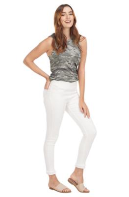 White Harlyn Fringe Jeans