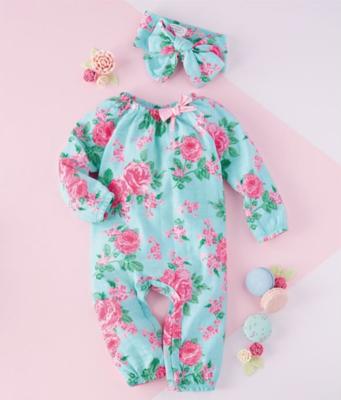 Rose Sleeper & Headband Set