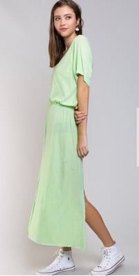 Maxi Neon T-Dress