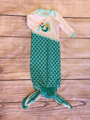 Mermaid Knotted Onsie