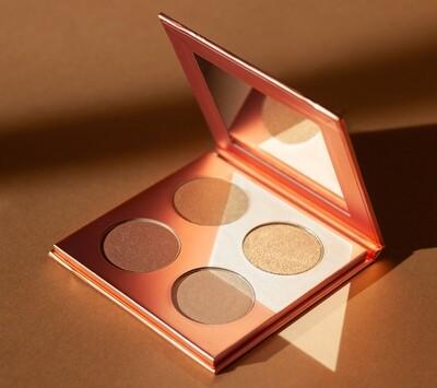 Golden Sun Glow Highlighter Palette