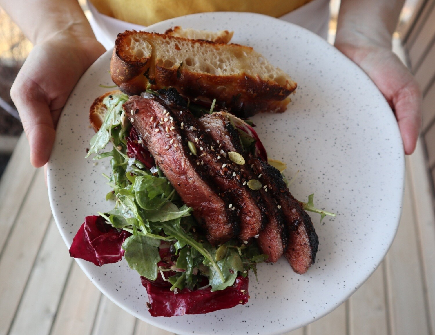 Father's Day Steak Salad Meal Kit