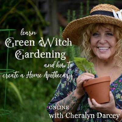 Learn Green Witch Gardening Online