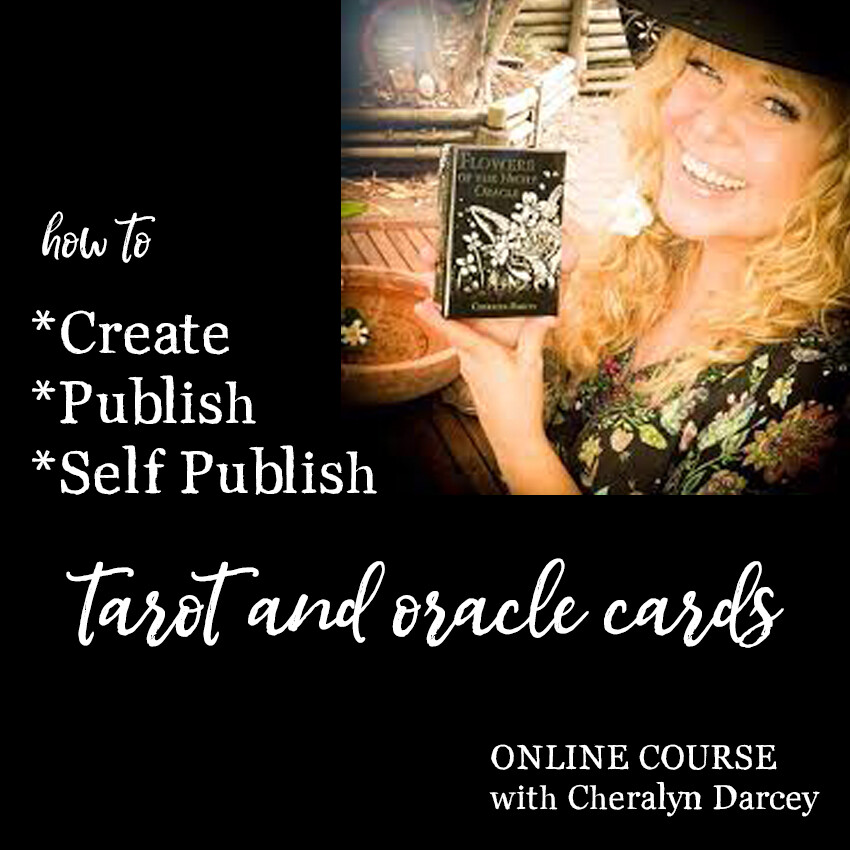 How to Create, Publish and Self Publish Tarot & Oracle Cards