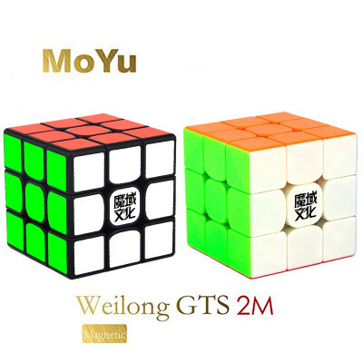Головоломка MoYu Weilong GTS2 3x3x3 Magnetic black