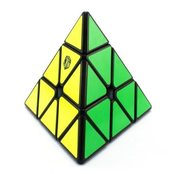 Головоломка MoFangGe X-MAN BELL Pyraminx Magnetic black