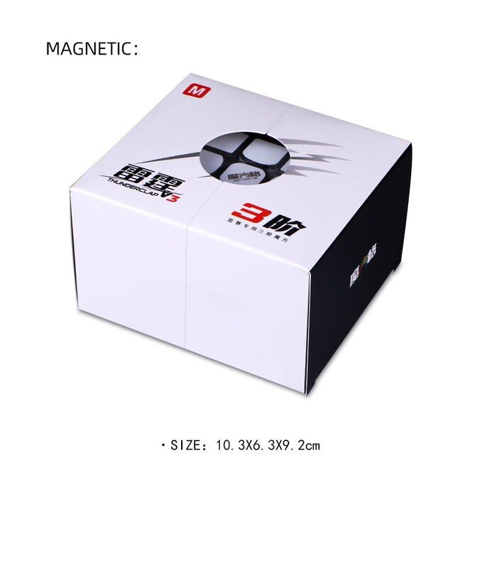 QiYi MoFangGe Thunderclap V3 3x3x3 Magnetic