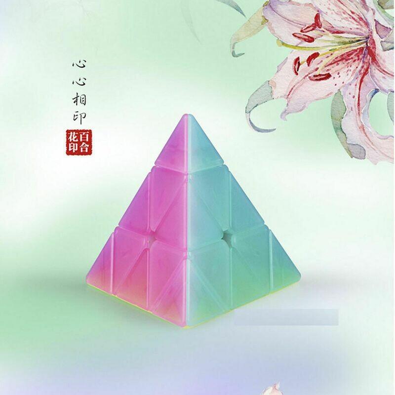 MoFangGe QiMing Jelly Pyraminx 3x3x3