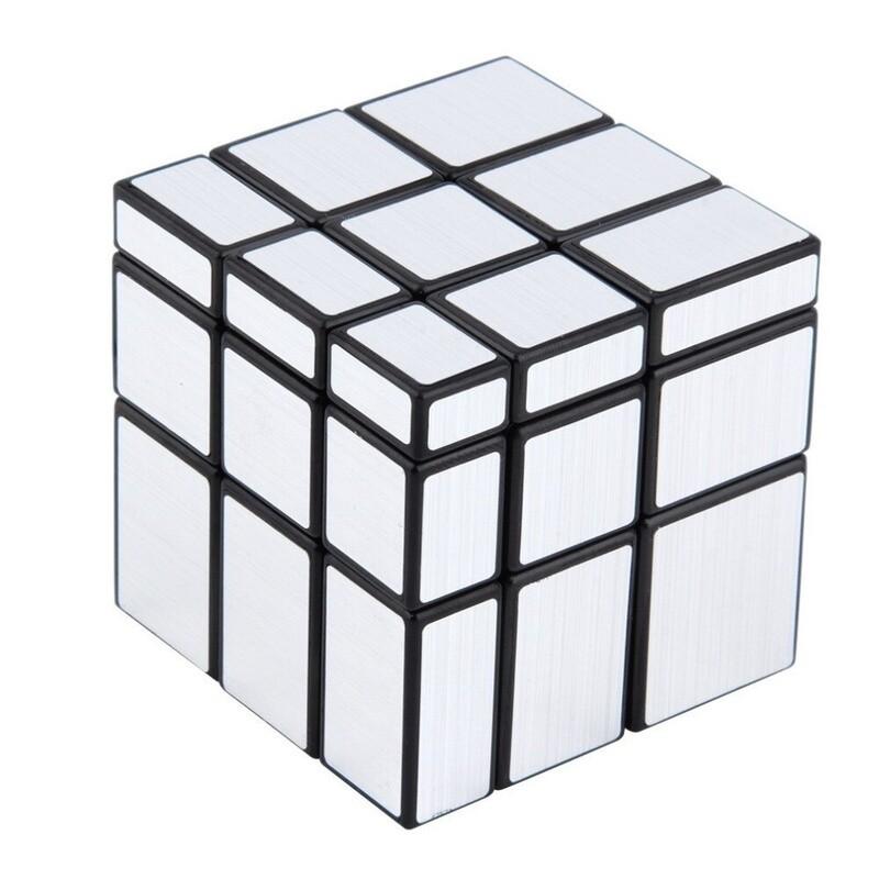 Головоломка QiYi Mirror Blocks 3x3x3 silver