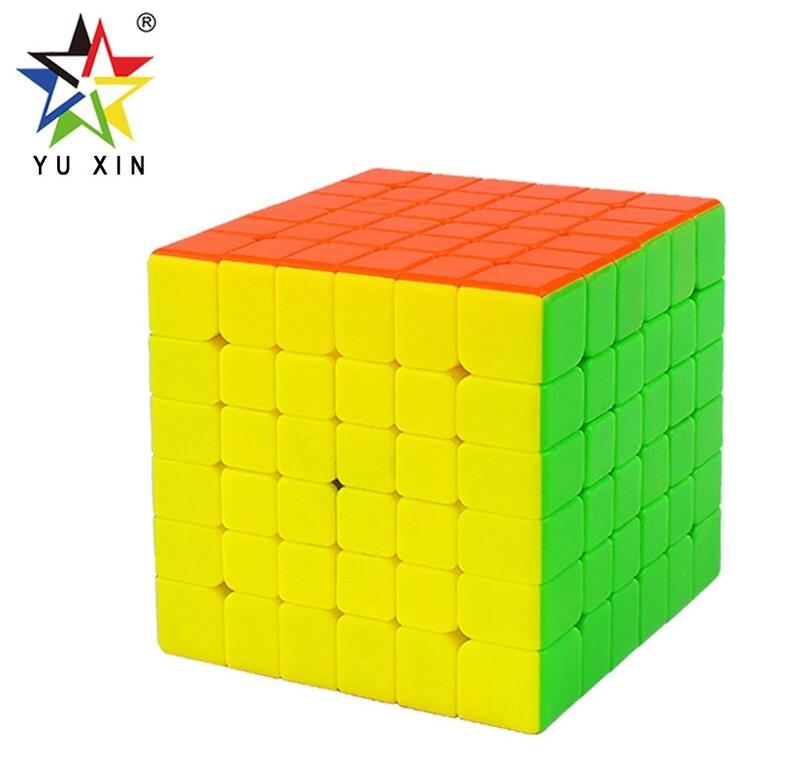 YUXIN LITTLE MAGIC 6x6x6 color