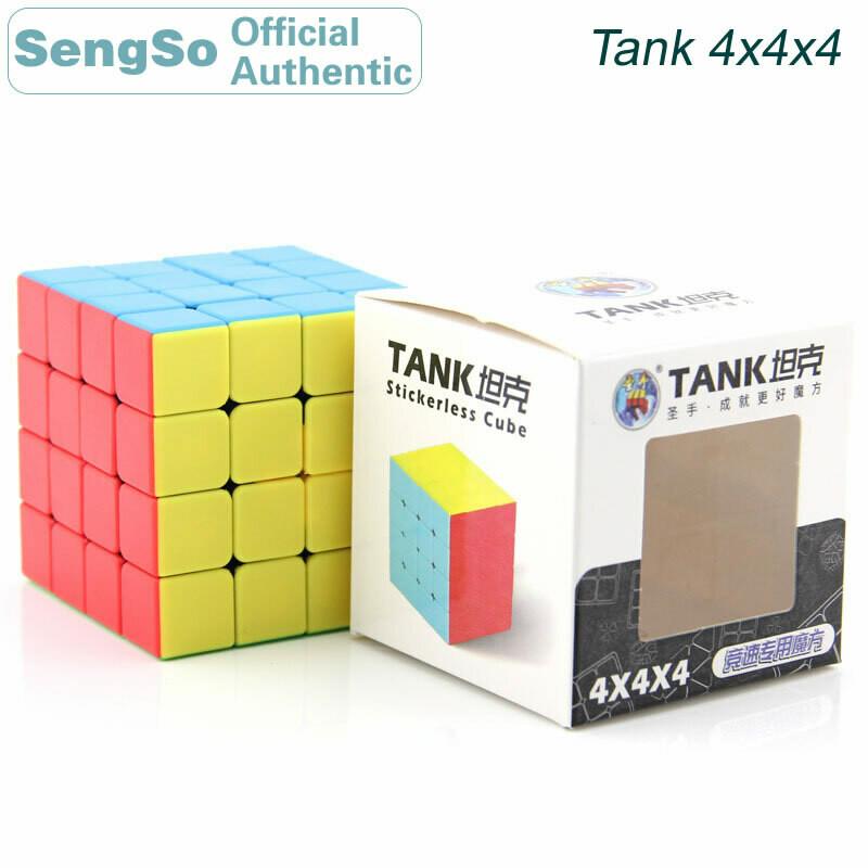 Головоломка ShengShou TANK 4x4x4 color
