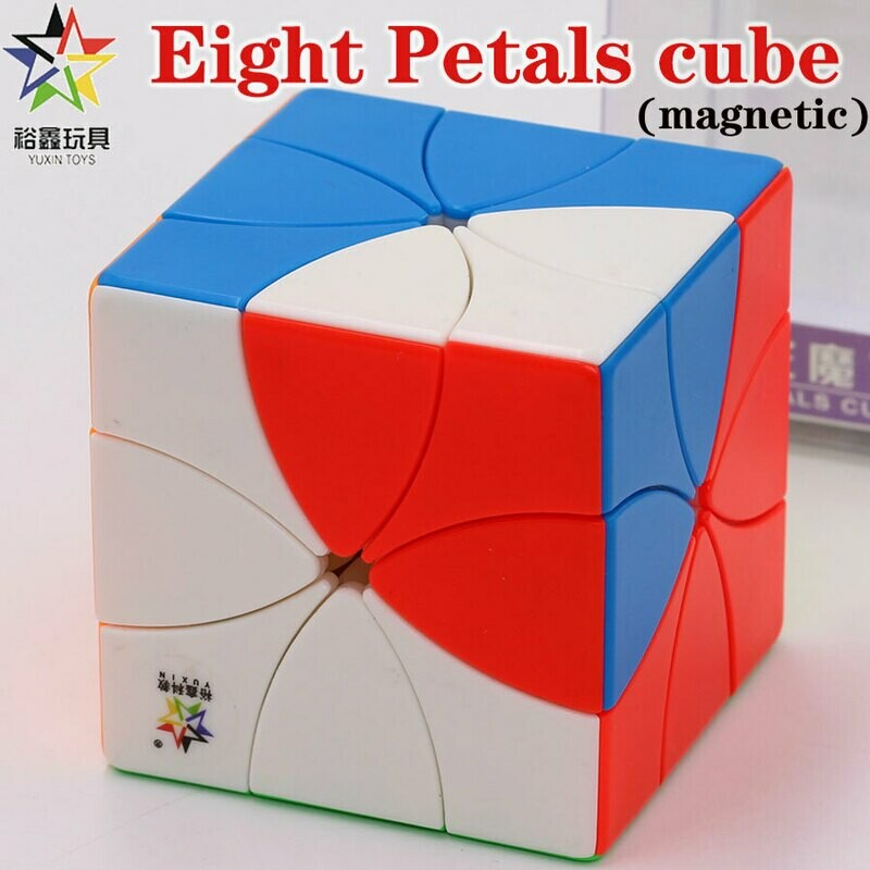 Головоломка YUXIN 8 PETALS CUBE magnetic color