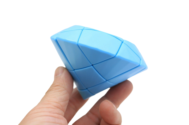 YJ Diamond Fingertip 3x3x3 blue