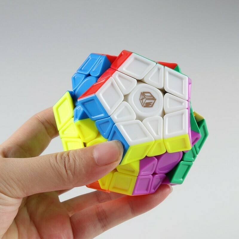 MoFangGe X-Man GALAXY Megaminx v2 M Sculpted color