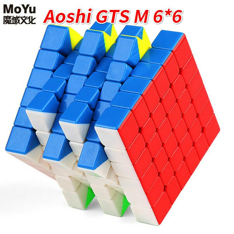 Головоломка MoYu AoShi GTS 6x6x6 Magnetic color