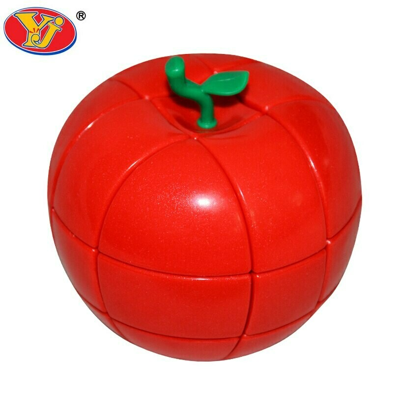 YJ 3x3x3 Apple red/green