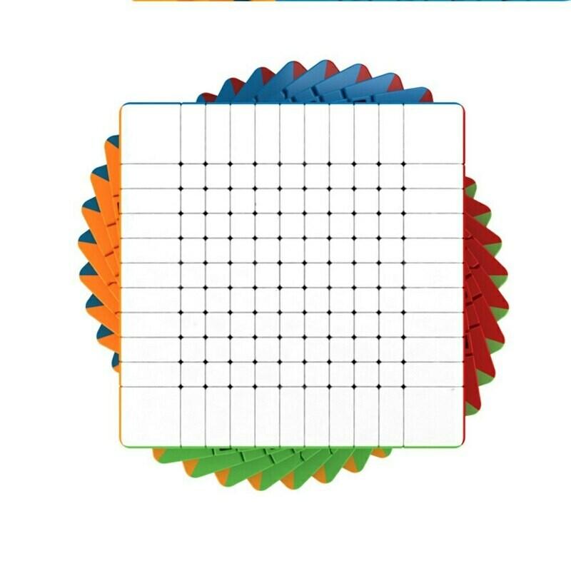 кубик Рубика MOYU MEILONG WCA 11x11x11 color
