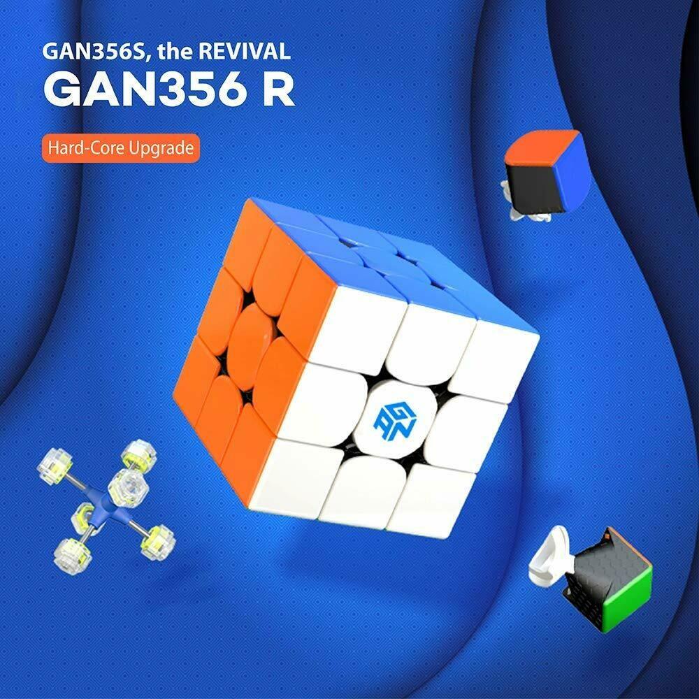 МАГНИТОГОРСК - СДЭК (2 ДНЯ) : GAN 356R 3X3X3 + СМАЗКА GAN 10ml