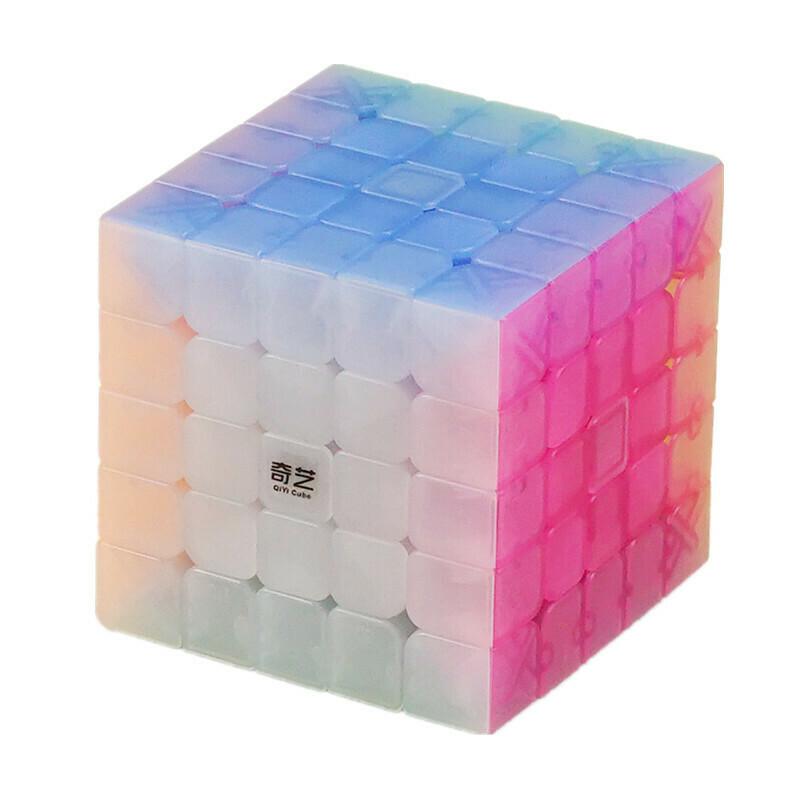 кубик Рубика QiYi QIZHENG S 5x5x5 JELLY