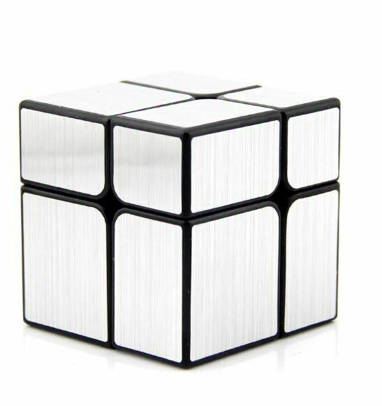 Головоломка YJ Mirror Blocks 2x2x2 silver