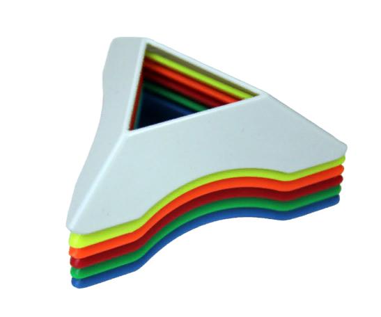 Подставка для кубика Рубика цветная