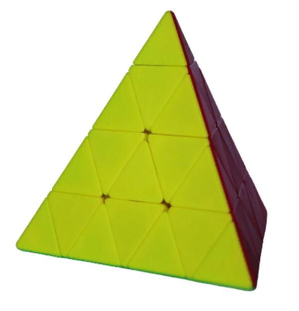 Головоломка FANXIN Pyramid 4x4x4 color