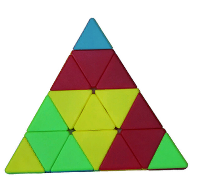 FANXIN Pyramid 4x4x4 color