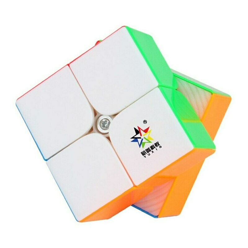 YUXIN LITTLE MAGIC 2x2x2 Magnetic color