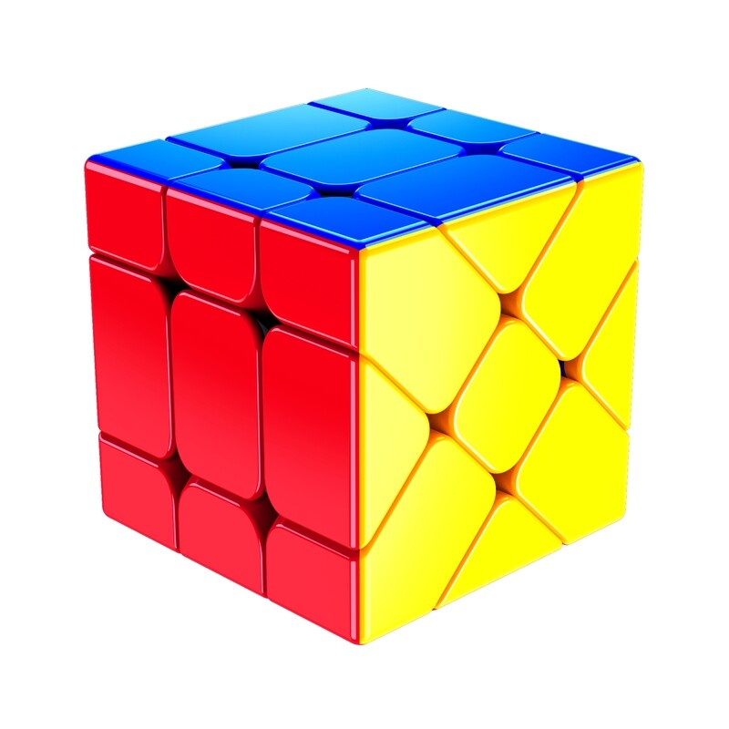 Головоломка кубик Фишера YJ Fisher Cube 3x3x3 color
