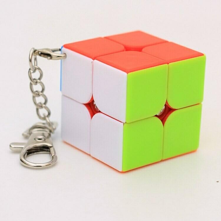 Головоломка-брелок 2x2x2 color