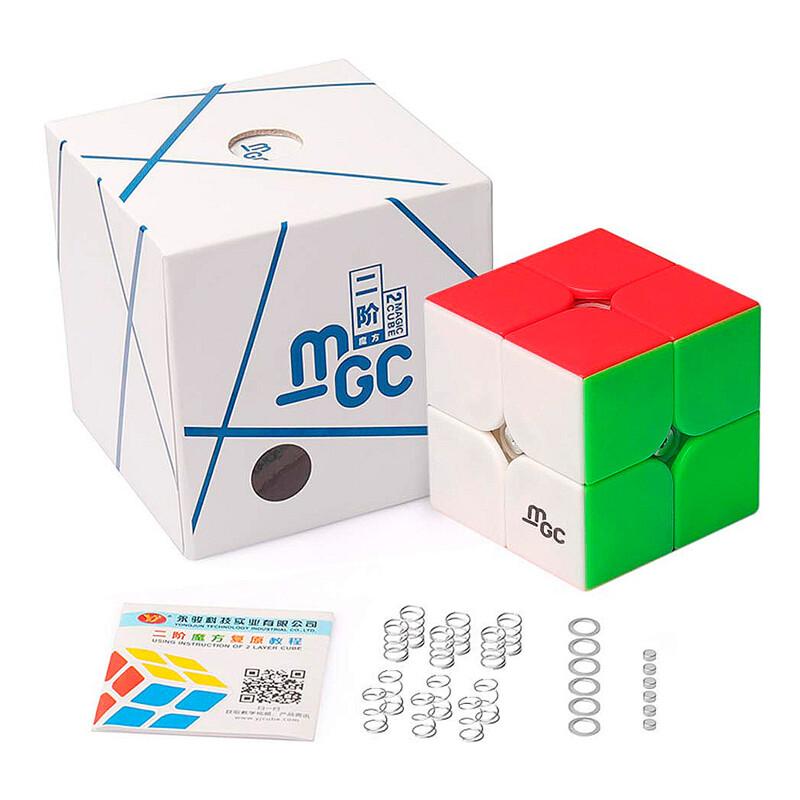 кубик Рубика YJ MGC 2x2x2 Magnetic color