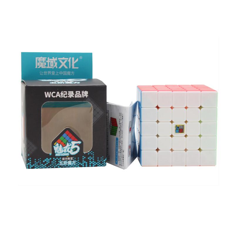 кубик Рубика MOYU MEILONG WCA 5x5x5 color