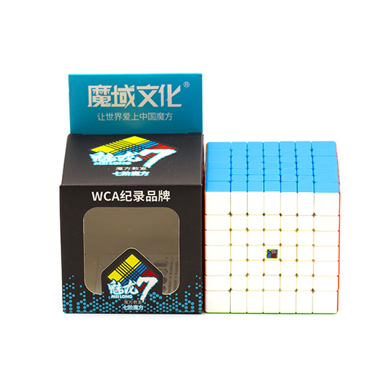 кубик Рубика MOYU MEILONG WCA 7x7x7 color