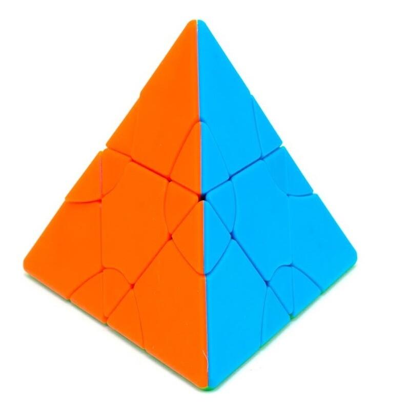 Головоломка LimCube Transform Pyraminx 2x2x2 color