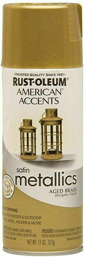 Краска с эффектом состаренного металла American Accents