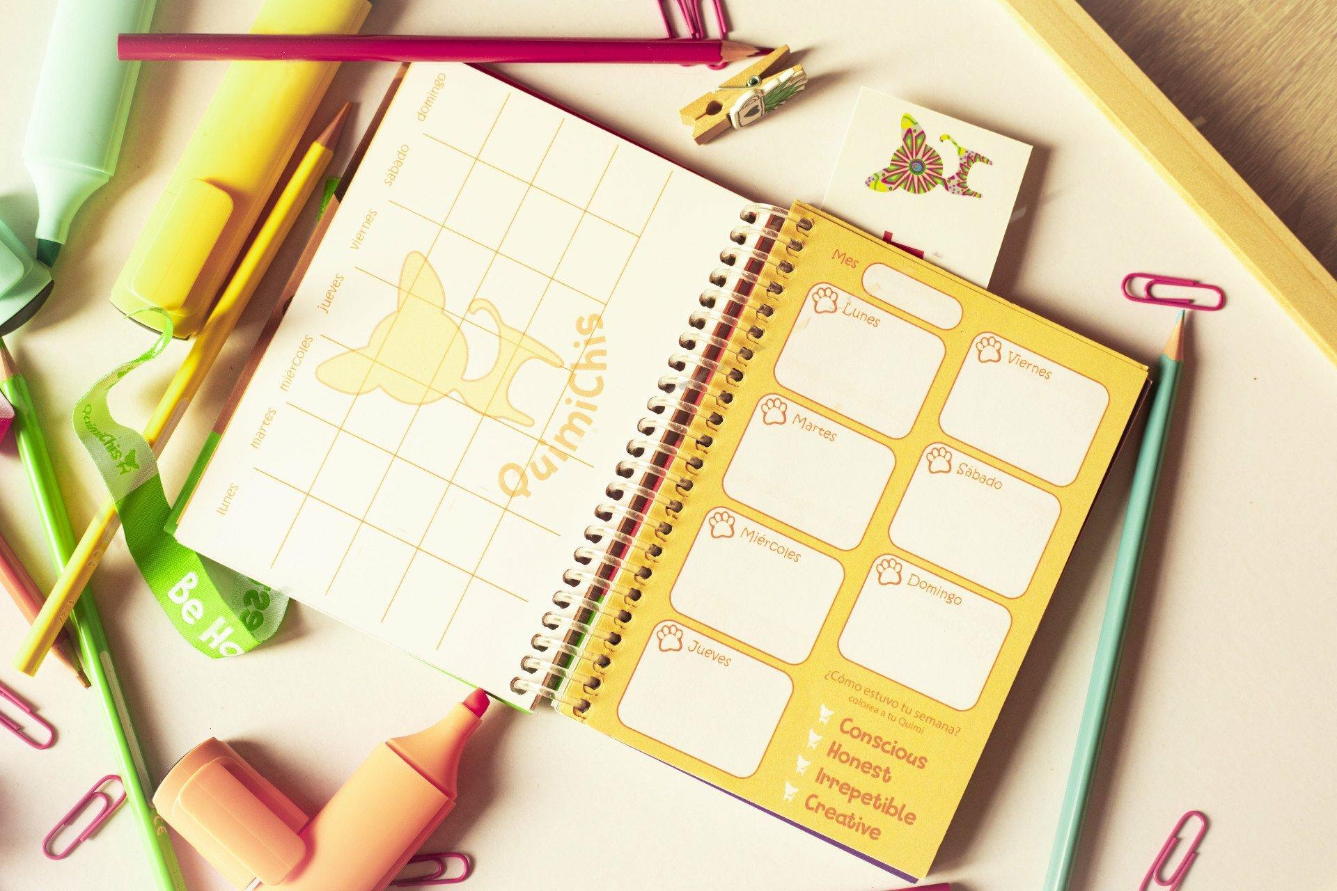Agenda personalizada - Quimichis