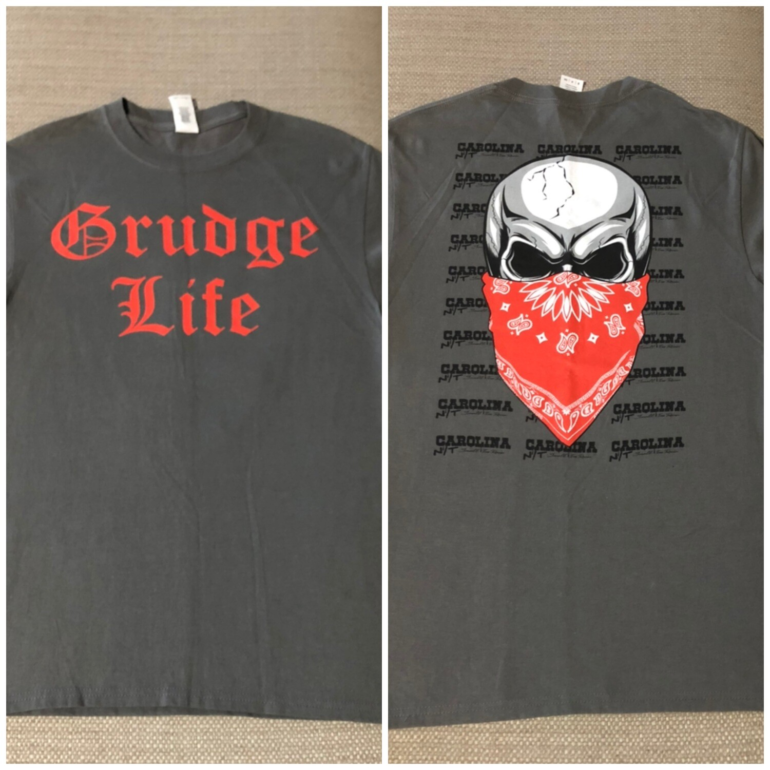 GRUDGE LIFE Red/Grey